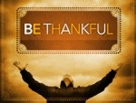 Thankfulness = Joy